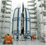 x-37B Orbital Test Vehicle encapsulated
