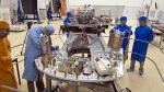Platforma z ładunkiem użytecznym (czyt.: satelitami) pierwszej misji rakiety Vega. Fot. ESA, CSG, Arianespace, Optique Video du CSG, J.M. Guillon